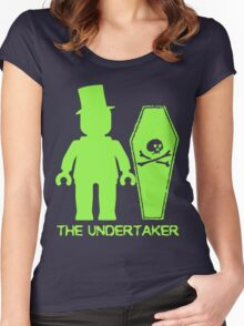 THE UNDERTAKER  Women's Fitted Scoop T-Shirt