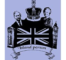 Island Person Photographic Print