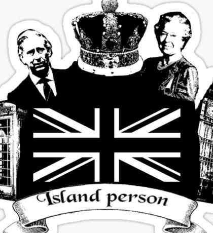 Island Person Sticker