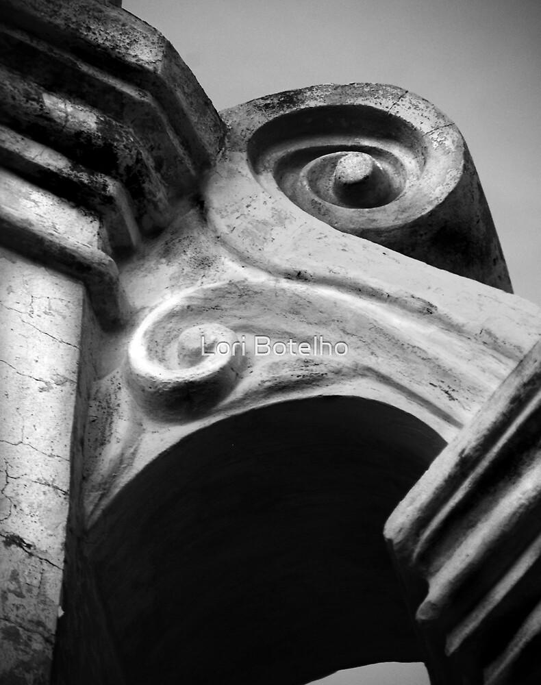 Detail in Concrete by Lori Botelho