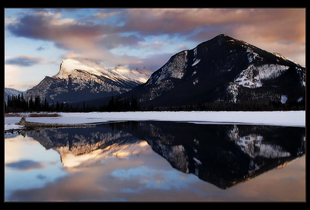 Rundle Reflections by Robert Mullner