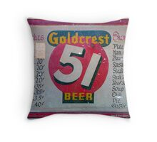 And Beer Is? Throw Pillow