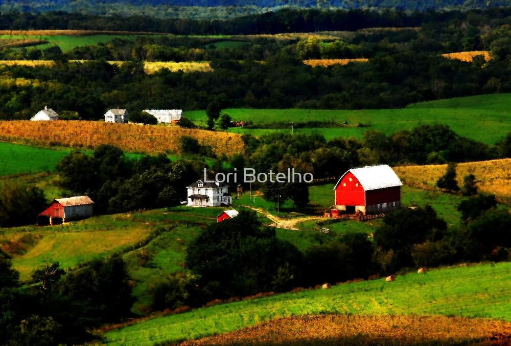 Iowa Countryside by Lori Botelho