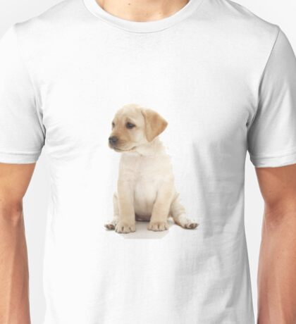 Yellow Lab Puppy Unisex T-Shirt