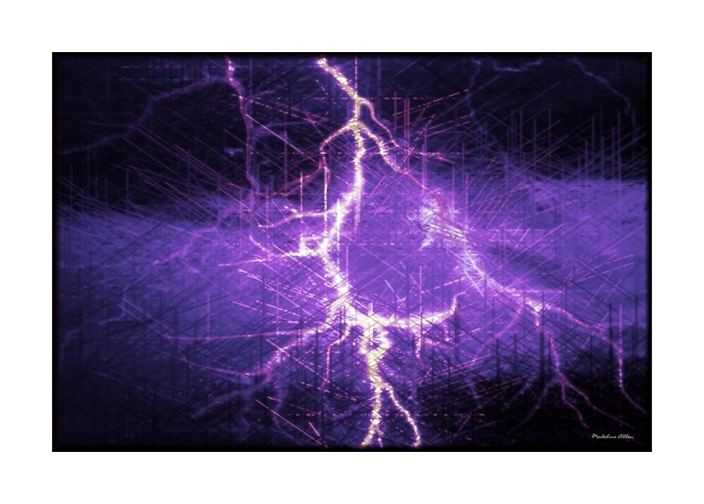 Blue Lightning by Madeline M  Allen