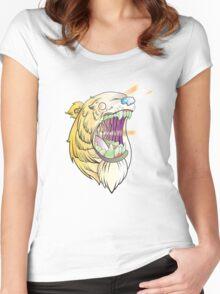 Lazer Bear Women's Fitted Scoop T-Shirt