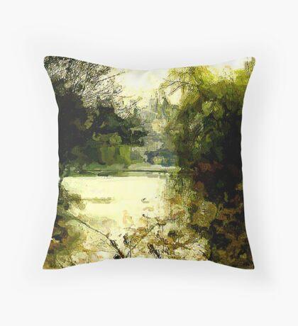 St James' Park-London Throw Pillow