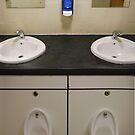 near symmetry (washroom combination) by armadillozenith