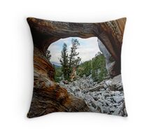 Bristle Cone Pine Wave Throw Pillow