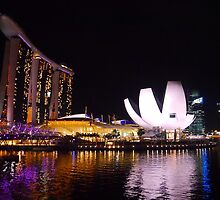 SG Night Scenery by Nurdiyana Mokhtar