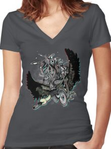 Penny Dreadful Women's Fitted V-Neck T-Shirt