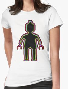Alien Minifig Xray  Womens Fitted T-Shirt
