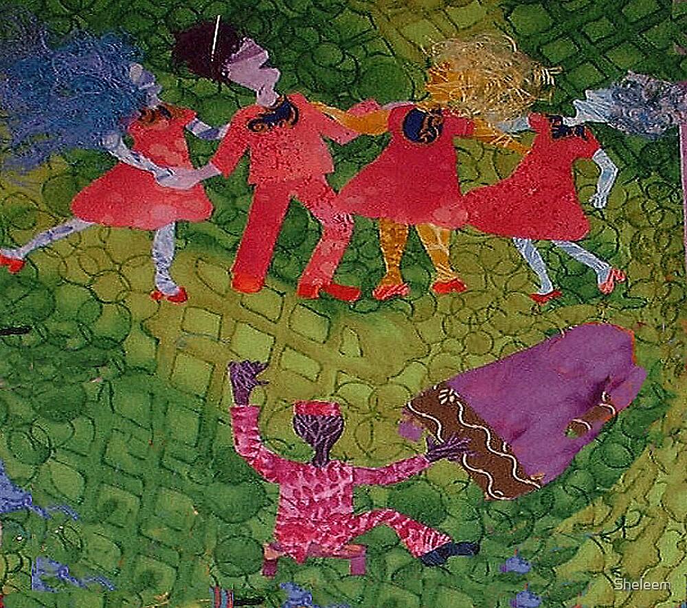 Quartet and Osie by Sheleem