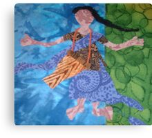 Chaula Drummer Canvas Print