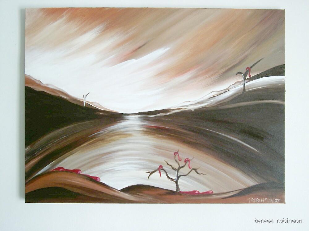 NO END by teresa  robinson