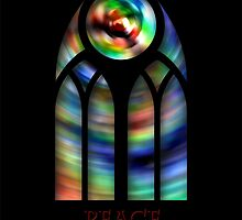 Goth Glass II - Peace by Harry Murray