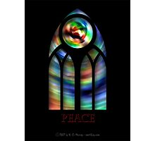 Goth Glass II - Peace Photographic Print