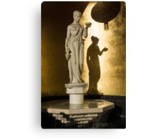 The Goddess and Her Shadow Canvas Print