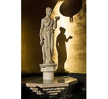 The Goddess and Her Shadow Photographic Print