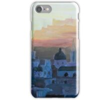 Salzburg Austria at Dusk iPhone Case/Skin
