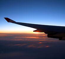 Flying to... by Wayne Holman