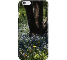 Dance of Bluets and Light iPhone Case/Skin