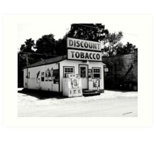 Discount Tobacco Baxter Tennessee  Art Print