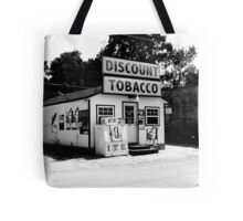 Discount Tobacco Baxter Tennessee  Tote Bag