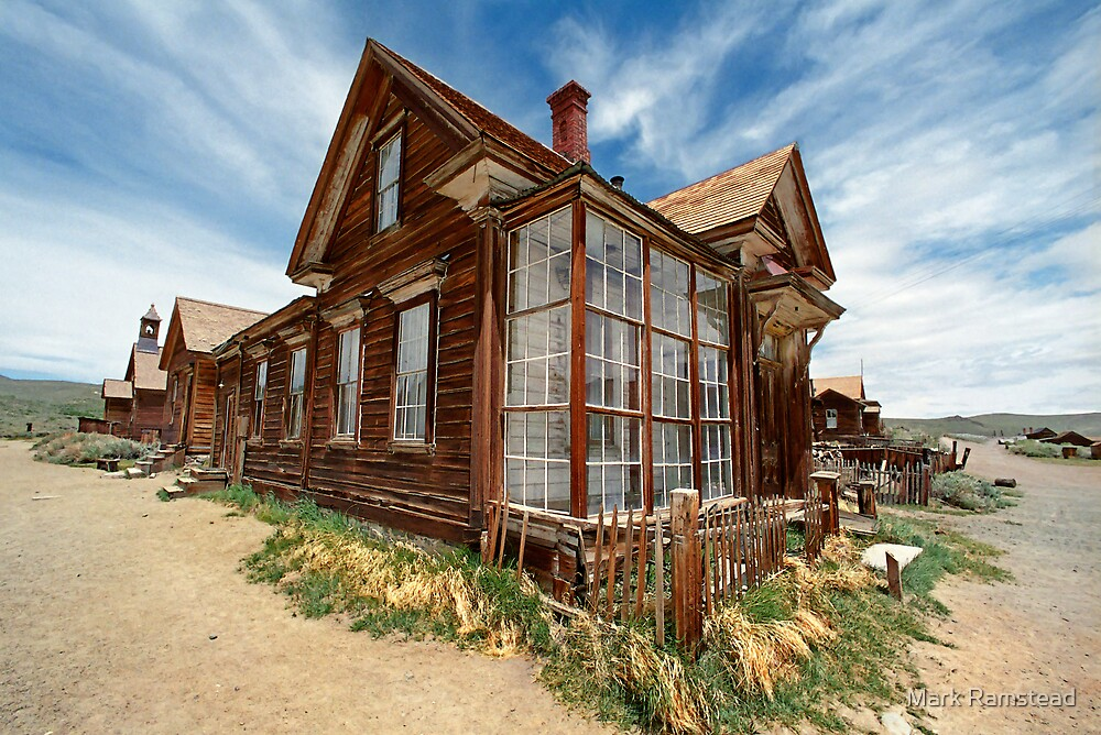 J. S. Cain Residence, Bodie Ghost Town by Mark Ramstead