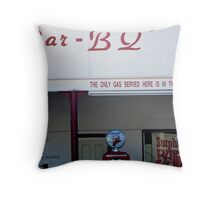 Gas in the Beans Throw Pillow