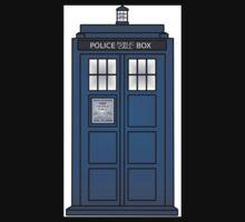 Doctor Who Tardis doors Kids Clothes