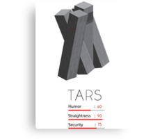 Tars - Interstellar Canvas Print