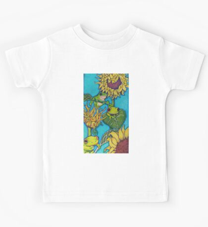 Frogs'n flowers Kids Tee