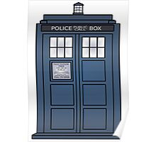 Doctor Who Tardis doors Poster
