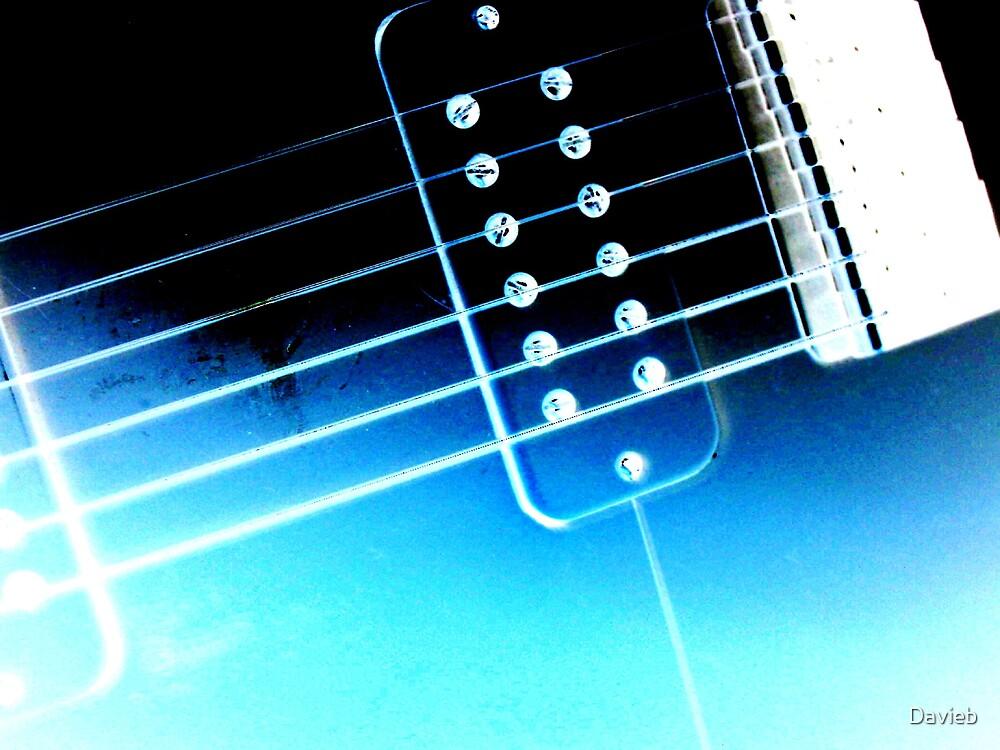 Frozen Guitar by Davieb
