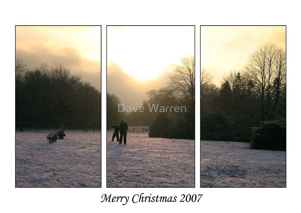 Merry Christmas 2007 by Dave Warren