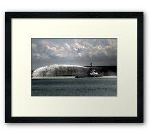 DHB Dauntless  Framed Print