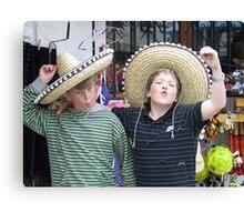 Mexican hats Canvas Print