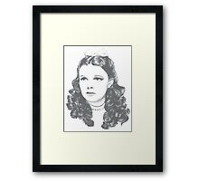 Dorothy - Clean Framed Print