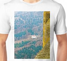 Maria Zell Chapel viewed from Burg Hohenzollern Castle Unisex T-Shirt