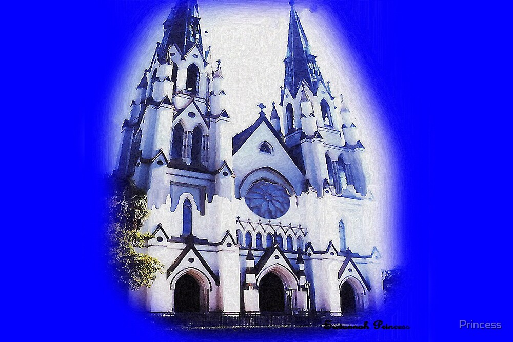 Cathedral oil by Princess