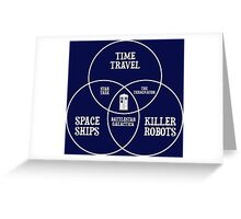 SciFi Fandom Definition Greeting Card