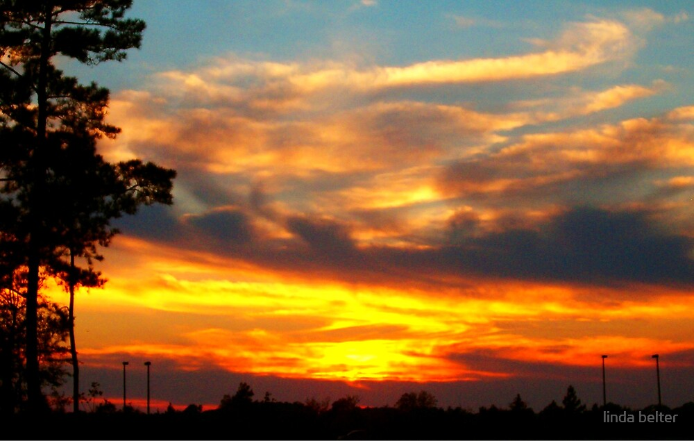 """ Sunset "" by linda belter"