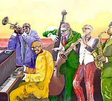 Super Jazz band by Alejandro Silveira