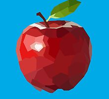 Polygon Apple Illustration by Conner-Sinclair