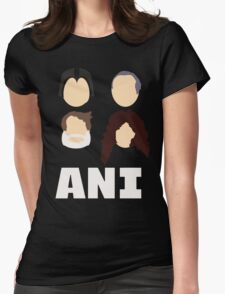Ani: A Parody Womens Fitted T-Shirt