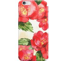 Floral watercolor pattern iPhone Case/Skin