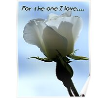 For the one I love - 3 Poster