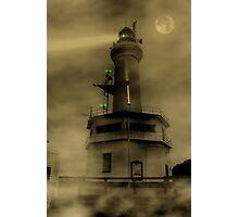 Fog Light Photographic Print