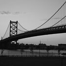 Ben Franklin Bridge by phlgrl33